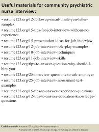Psychiatrist Resume Top 8 Community Psychiatric Nurse Resume Samples