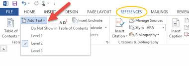 How To Do A Table Of Contents How To Create A Toc In Word 2013 Daves Computer Tips