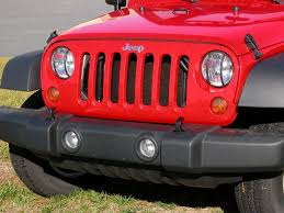 jeep wrangler light covers rugged ridge 11230 03 front light guards in black for 07 17