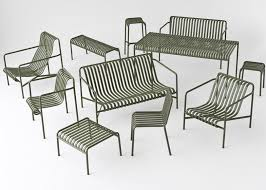 Outdoor Furniture Design Bouroullecs Design Palissade Striped Outdoor Furniture For Hay