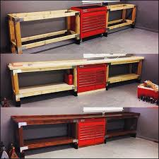 Ideas For Workbench With Drawers Design Xtreme Garage Shelving 2018 Design High Definition Wallpaper