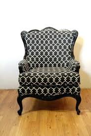 Black And White Chair And Ottoman Design Ideas Patterned Chair And A Half With Ottoman Top Best Armchair Ideas On