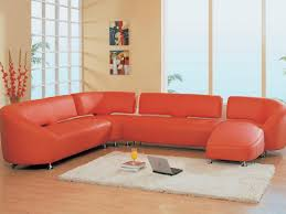 Leather Sectional Sofas With Chaise Lounge by Sofa 7 Furniture White Leather Sectional Sofa With Cushion