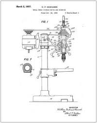 barr drill press patent images technical u0026 patent drawings