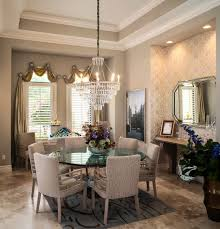 Ideas For Dining Room Lovely Window Scarf Decorating Ideas