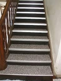 steinteppich verlegen treppe 1 lfm treppenprofil für steinteppich laminat profil trenofloor