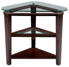 Triangle Accent Table Broyhill Furniture Triangle Accent Table 3431 007 Triangle Side
