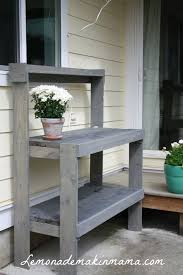 Best  Diy Outdoor Table Ideas On Pinterest Outdoor Wood Table - Diy patio furniture