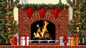simple christmas fireplace video home design great modern with