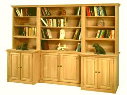 Unfinished Bookcases With Doors Unfinished Wood Bookcases With Doors Popular Solid Near Me