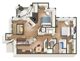 Floor Plans One Bedroom Apartments In Knoxville Tn
