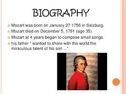 mozart biography brief wolfgang amadeus mozart