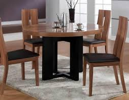 Dining Room Chairs Contemporary by Dining Tables Small Round Wood Table Contemporary Tables And