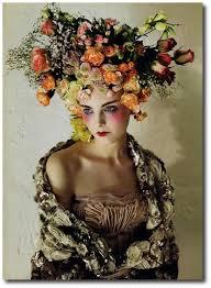 flower headpiece floral arrangements