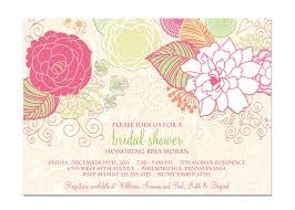 floral bridal shower invitations u2013 gangcraft net