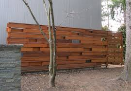 contemporary wooden fencing modern timber fences thesouvlakihouse