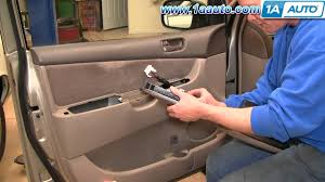how to install replace driver master power window switch toyota