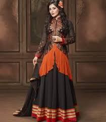 indo western gowns kurtis tunics lehengas saree for female