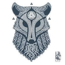 ulfhednar wolf knotwork tattoo by raidho tattoos pinterest