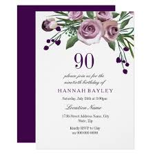 elegant birthday invitations u0026 announcements zazzle