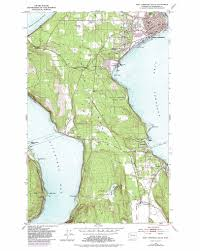 Sequim Washington Map by Port Townsend South Topographic Map Wa Usgs Topo Quad 48122a7