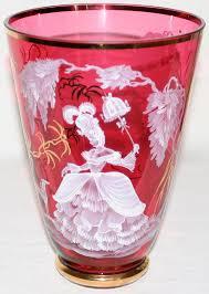 Antique Cranberry Glass Vase 53 Best Mary Gregory Images On Pinterest Glass Vase Feminine