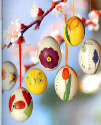 easter egg craft ideas hanging ornaments easter tree