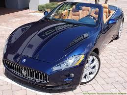 blue maserati interior 2014 maserati gran turismo cabriolet