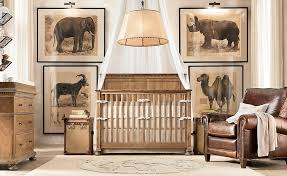 Wooden Nursery Decor Comfortable Wooden Baby Bedroom Ideas With Artistic Decor