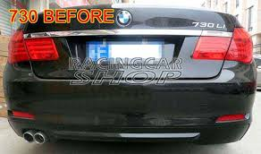 750l bmw aliexpress com buy high quality pu exhaust rear diffuser