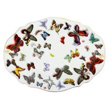 buy christian lacroix butterfly parade platter amara