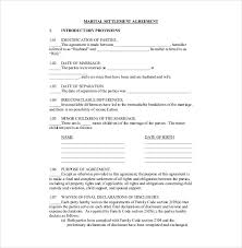 divorce agreement template u2013 12 free word pdf documents download