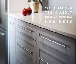 Ikea Kitchen Cabinets Using Ikea Vs Custom Kitchen Cabinets
