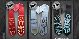 personalized graduation stoles purchase custom graduation stole and support creativity