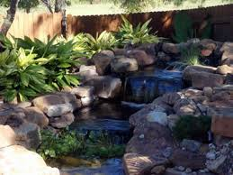 Water Features Backyard by Austin Water Features Ponds Waterfalls