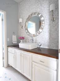 Lowes Bathroom Vanities In Stock Bathroom Vanity Wall Makeover Say With Lowes Stock Cabinets