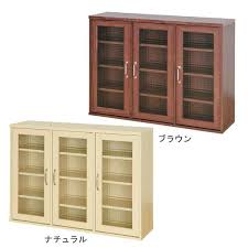 wood and glass cabinet atom style rakuten global market cabinet with doors kitchen