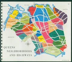 Map Of Nyc Neighborhoods Queens Neighborhoods 1964 1964 Map Feel Free To Add Your U2026 Flickr