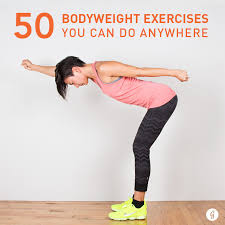 Full Body Dumbbell Workout No Bench Bodyweight Exercises 50 You Can Do Anywhere Greatist