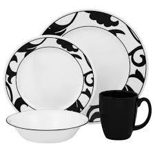 dinnerware black and white damask dinnerware black and white