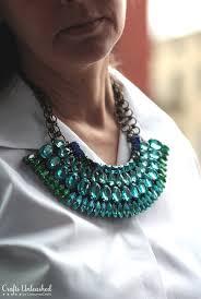 diy necklace statement images Statement necklace tutorial diy rhinestone necklace jpg