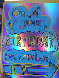 birthday cards thank you cards