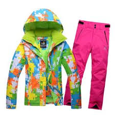 cheap skiing suit sets women ski snowboard skiing clothing 30