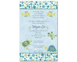 baby boy shower invitations turtle turtle baby shower invitations