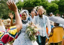 traditional wedding could this be south africa s traditional wedding of the year