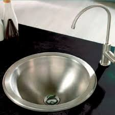 Singlebowl Kitchen Sink  Stainless Steel  Round ORB B - Round sinks kitchen