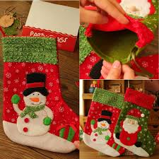 25 19cm christmas santa socks home supermarket christmas