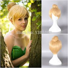tinkerbell hairstyle princess tinker bell tinkerbell blonde bun cosplay wig cos wigs