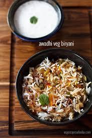 biryani cuisine awadhi biryani recipe lucknowi biryani recipe veg awadhi