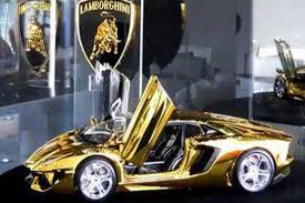 gold plated lamborghini aventador dunya technology gold plated lamborghini goes on display